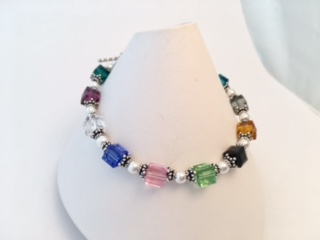 Better than a birthstone ring... this is a birthstone bracelet!