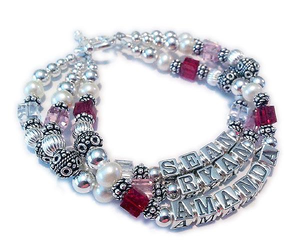 JBL-SS6-3 String Bracelet Order: SEAN/Apr RYAN/Oct AMANDA/Jul
