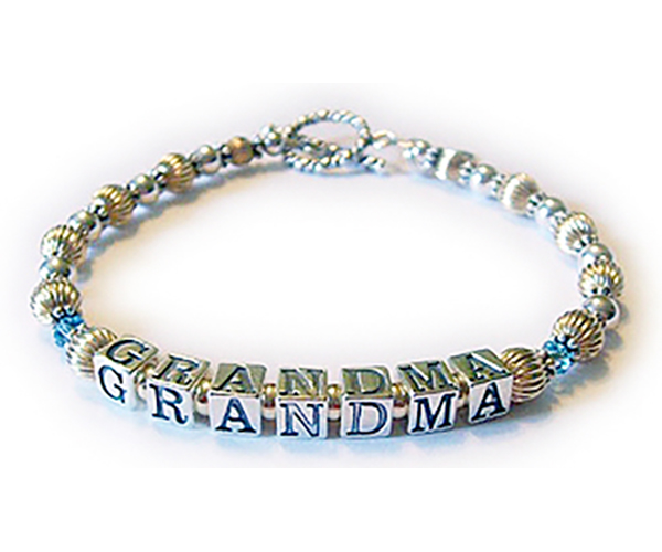 Enter: Mar - GRANDMA - Mar Shown with one of my free twisted toggle clasps.