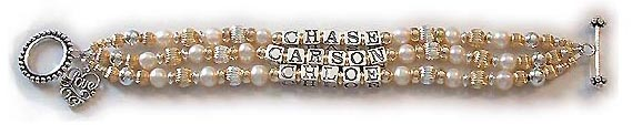 Enter: CHASE, CARSON, CHLOE They added 2 things to their order: Beaded Toggle Clasp and a LOVE Filigree Charm.