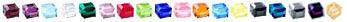 Swarovski Crystal Birthstone Color Options