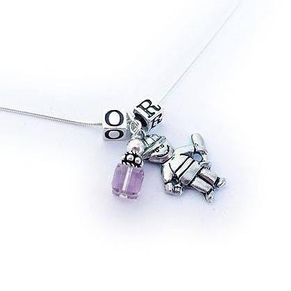 Boy Charm Necklace - JBL-CC-N1-1 boy charm