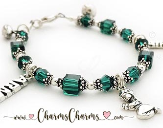 Army & Air Force Charm Bracelet
