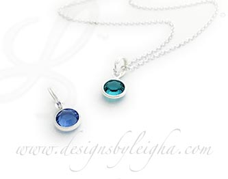 Sapphire and Turquoise Necklaces
