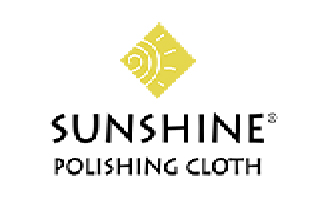 Yellow Blue Pink Sunshine Polishing Cloths