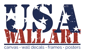 USA WALL ART (TM) American Flags, American Presidents, Canvas, Posters and Wall Decals