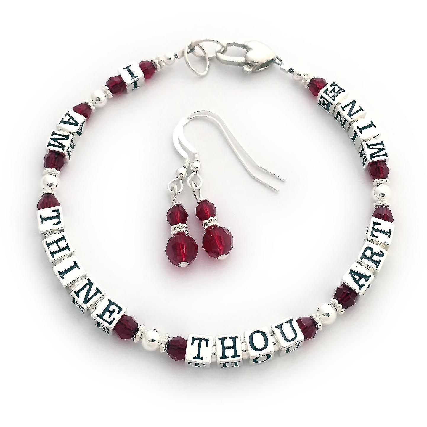 I AM THINE THOU ART MINE Bracelet
