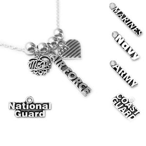 Air Force, National Guard, Marines, Navy, Army, Coast Guard Necklace - N8