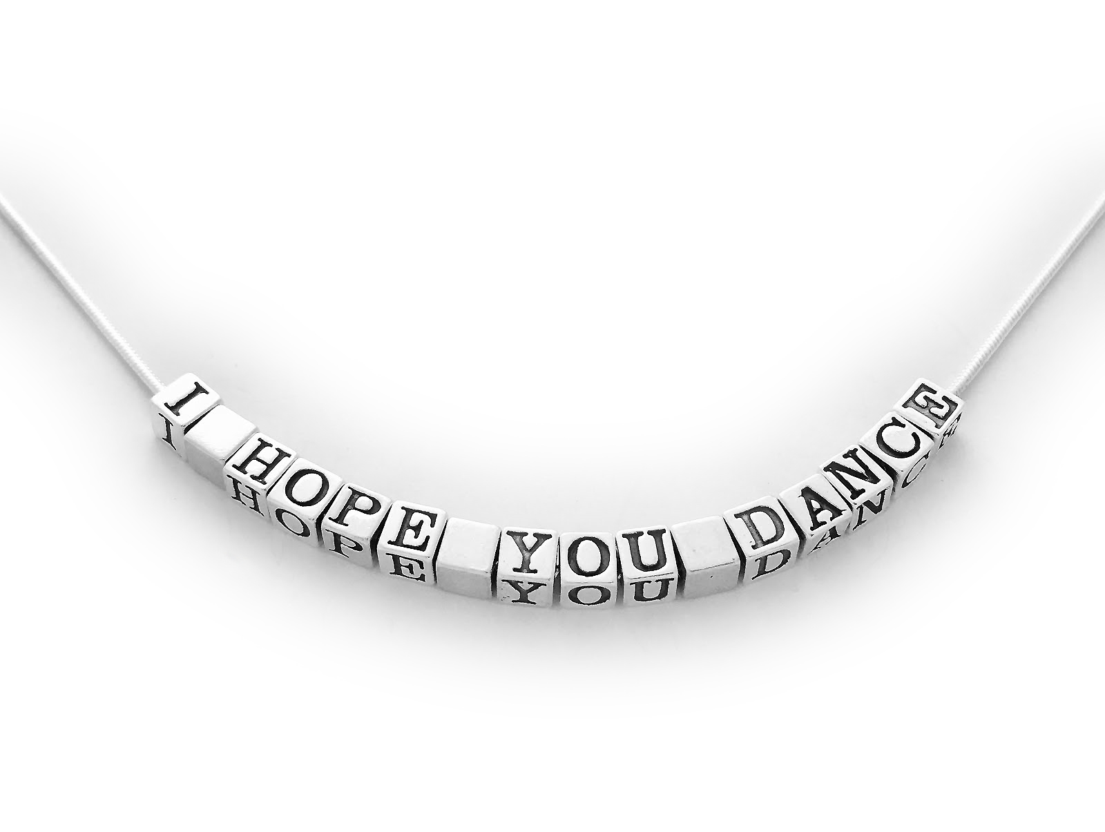I Hope You Dance Necklace - JBL-SNameNecklace